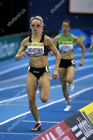 Athletics - AVIVA Grand Prix - Birmingham Jenny Meadows takes the win in the womens 800m Final
