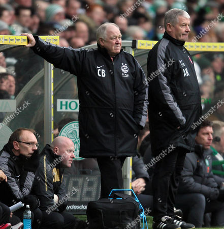 Editorial picture of Celtics v.s Aberdeen - 22 Jan 2011