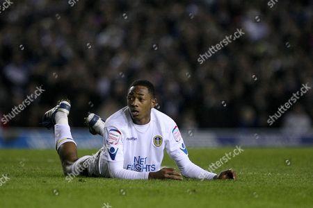 Football - FA Cup Third Round Replay - Leeds United vs Arsenal Sanchez Watt of Leeds at Elland Road