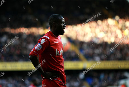 Football - FA Cup Third Round - Tottenham Hotspur vs Charlton Athletic Akpo Sodje of Charlton Athletic at White Hart Lane