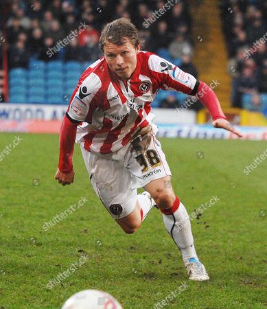 Football - Championship - Crystal Palace vs Sheffield United 19/02/2010 Bjorn Helge Riise (Sheff Utd)