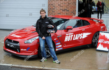 Motor racing : at Brands Hatch 09/04/2013 Tom Chilton with his Nissan CTR 35 Racing Car