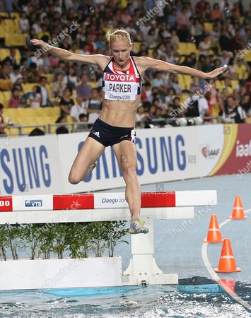 Athletics - World Championships 2011 - Daegu - Day Four Barbara Parker competes in the final of the Women's Steeplechase during day four of The Athletics World Championships in Deagu South Korea on 30th August 2011  South Korea Deagu