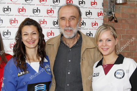 The Football Legends Cup - Football 40 - Kit Unveiling - The London Legends Cup and Football 40 unveil the team kits at Planet Hollywood Pictured: Ricky Villa