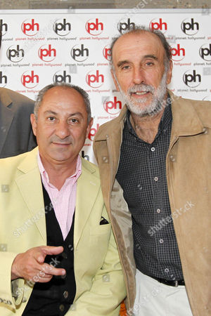The Football Legends Cup - Football 40 - Kit Unveiling - The London Legends Cup and Football 40 unveil the team kits at Planet Hollywood Pictured: Ossie Ardiles and Ricky Villa