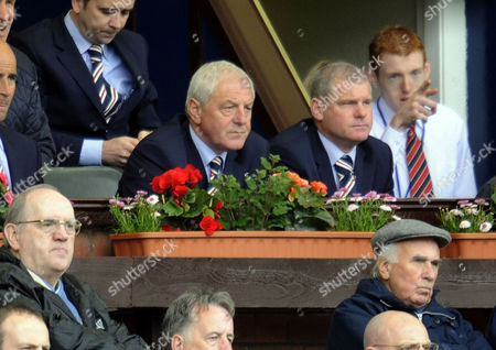 Football - Scottish Premier League - Kilmarnock vs Rangers Walter Smith (Rangers manager) watches from the stands at Rugby Park