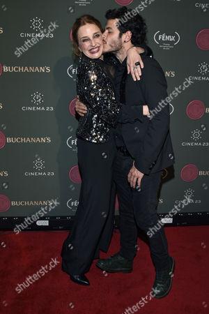 Alfonso Dosal and Claudia Ramirez