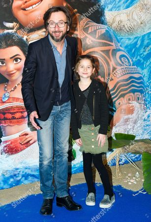 Editorial picture of 'Moana' film premiere, Paris, France - 16 Nov 2016