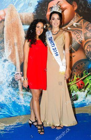 Cerise Calixte, 2016 Miss Tahiti Vaea Ferrand