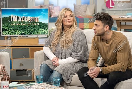 Amanda Prowse and Jake Quickenden