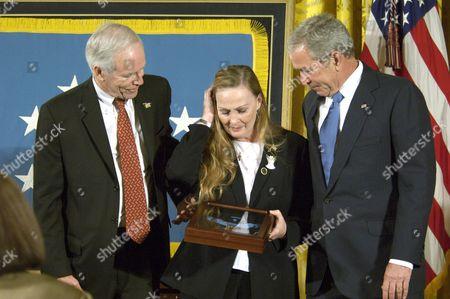 Daniel Murphy, Maureen Murphy and President George W. Bush