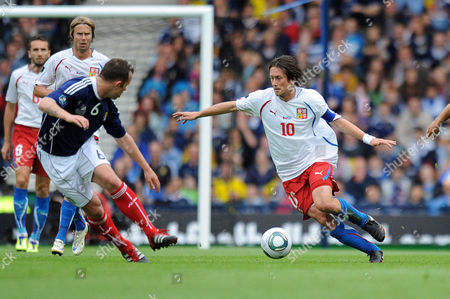 Editorial image of Euro 2012 Qualifier - Scotland vs. Czech Republic - 03 Sep 2011