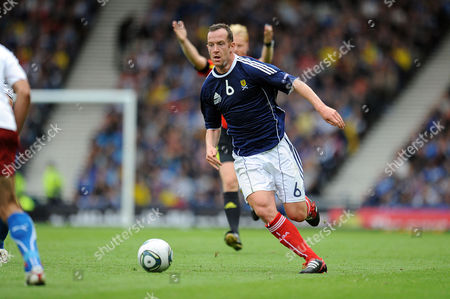 Football - Euro 2012 Qualifier - Scotland vs Czech Republic Charlie Adam (Scotland) at Hampden Park