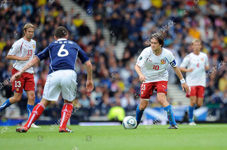 Editorial picture of Euro 2012 Qualifier - Scotland vs. Czech Republic - 05 Sep 2011