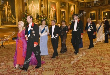 Editorial picture of President Nicolas Sarkozy and wife Carla Bruni Sarkozy State Banquet at Windsor Castle, Britain - 26 Mar 2008