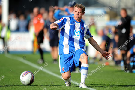Football - League One - Hartlepool vs Sheffield Wednesday Ritchie Humphreys (Hartlepool United) at Victoria Park UK
