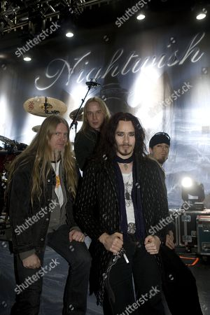 Editorial picture of Nightwish in concert at the Astoria, London, Britain - 25 Mar 2008