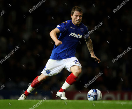 Stock Picture of Football npower Championship Portsmouth vs Peterbrough at Fratton Park Portsmouth's Bjorn Helge Riise 27/09/2011