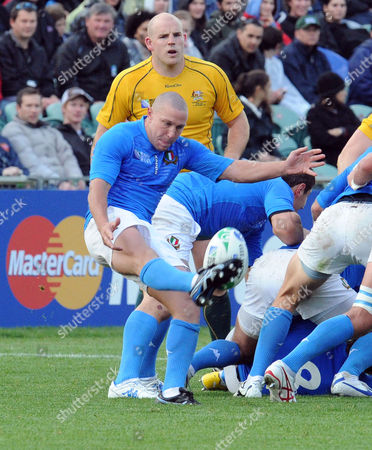 Rugby Union - Rugby World Cup 2011 - Australia vs Italy 11/09/2011 Fabio Semenzato (Italy)