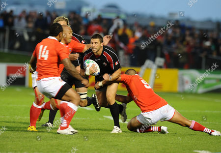 Editorial picture of RWC Pool A: Tonga 20 Canada 25 - 14 Sep 2011