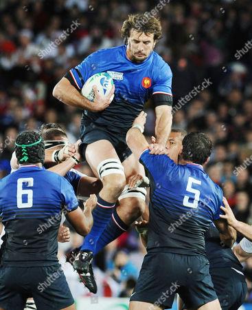 England v France; Auckland; RWC 1/4 Final Julien Pierre - France