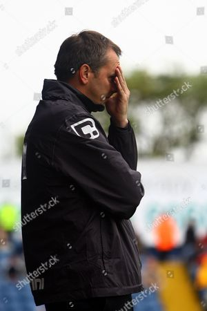 Stock Image of Football - Blue Sq Premier - Stockport County vs Mansfield Dietmar 'Didi' Hamann at Edgeley Park