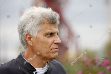 Sport - Laureus World Sports Academy Members at the London 2012 Olympic Park Pictured: Mark Spitz