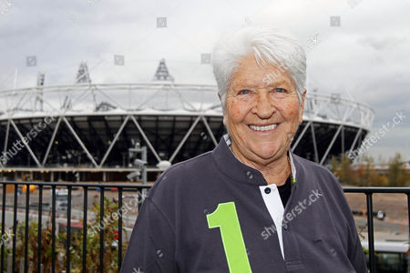 Sport - Laureus World Sports Academy Members at the London 2012 Olympic Park Pictured: Dawn Fraser