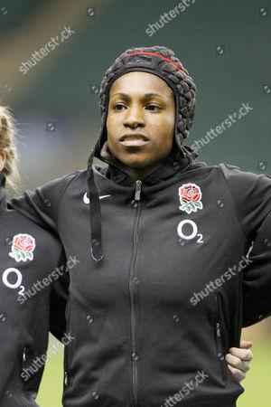 Women's Rugby Union - England vs New Zealand England's Margaret Alphonsi at Twickenham