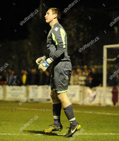 Football - FA Youth Cup FifthRound- Chelsea vs West Ham United David Wootton - WHU goalkeeper