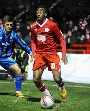Football - League Two - Crawley Town vs Cheltenham Town Sanchez Watt - Crawley on loan from Arsenal