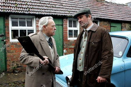 'Heartbeat'   TV - 2007  Pictured Roger Parslow (Colin Tarrant)  and Harold Beecham (Richard Todd)