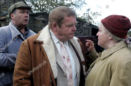 'Heartbeat' TV - 2007   Pictured David Stockwell (David Lonsdale), Vernon Scripps (Geoffrey Hughes) and Peggy Armstrong (Gwen Taylor) photographer Helen Turton