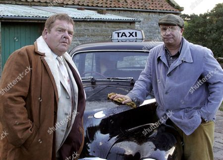 'Heartbeat'   TV  - 2007   Pictured David Stockwell (David Lonsdale) and  Vernon Scripps (Geoffrey Hughes)