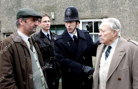 'Heartbeat'   TV  - 2007     Roger Parslow (Colin Tarrant), Rob Walker (Jonathan Kerrigan)), PC Geoff Younger(Steven Blakeley) and Harold Beecham (Richard Todd)