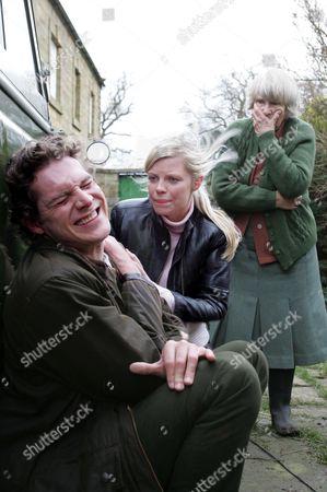 'Heartbeat'   TV - 2007   Pictured Rosie Cartwright (Vanessa Hehir) , Jimbo Brady (Mark Umbers) and Winnie Cresswell (Jean Heywood)