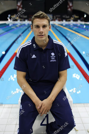 Swimming - Olympic Trials - London Aquatic Centre Portrait of Daniel Fogg Today he won the gold medal in the 1500m Freestyle to qualify for the Olympics