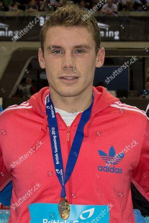 Swimming - Olympic Trials - London Aquatic Centre 1500m Gold Medalist Daniel Fogg