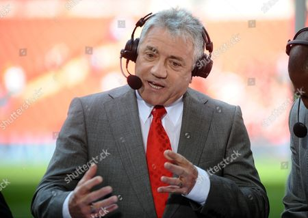 Football - FA Cup Semi final Liverpool v Everton ESPN TV Commentator Kevin Keegan (Ex Liverpool and Newcastle United player)