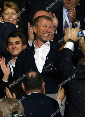 Football - Champions League Final - Bayern Munich vs Chelsea Roman Abramovic during the Champions League Final between Bayern Munich and Chelsea in The Alliance Arena on 19th May 2012  Germany Munich