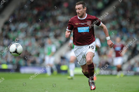 Football - Scottish FA Cup Final - Hibernian vs Hearts Stephen Elliott (Hearts) at Hampden Park