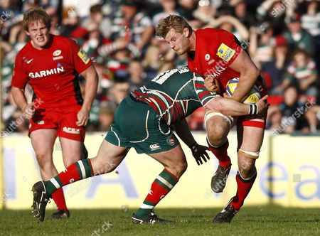 Editorial photo of Prem SF: Leicester 24 Saracens 15 - 12 May 2012