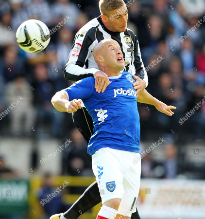 Editorial photo of npower League one - Notts County vs Portsmouth - 22 Sep 2012