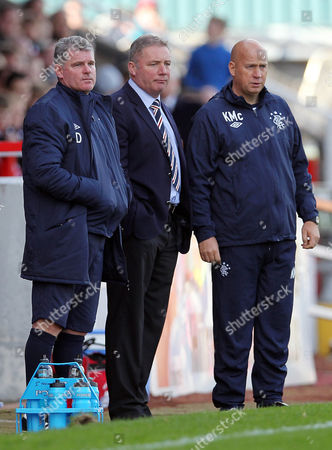 Editorial image of Stirling Albion v Rangers - 06 Oct 2012