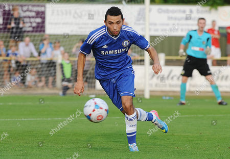 Football - 2012 / 2013 pre-season friendly - Sutton United vs Chelsea XI Christian Cuevas - chelsea The Chilean u 20 player who has just signed for the club at Borough Sports Ground