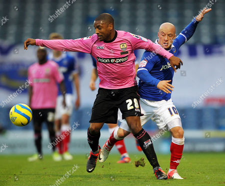 Editorial picture of The FA Cup Round one - 03/11/2012 - Portsmouth vs Notts County