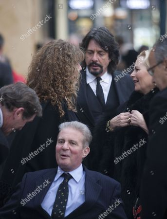 Stock Picture of Laurence Llewelyn-Bowen, Earl Bathurst and Lady Bathurst
