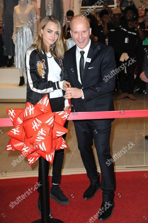 Editorial picture of H&M store opening, New York, USA - 17 Nov 2016