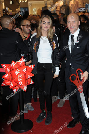 Stock Picture of Cara Delevingne, Daniel Kulle