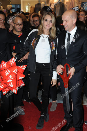 Editorial image of H&M store opening, New York, USA - 17 Nov 2016